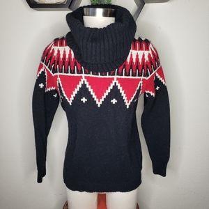Lauran Ralph Lauren Knit Sweater turtleneck large